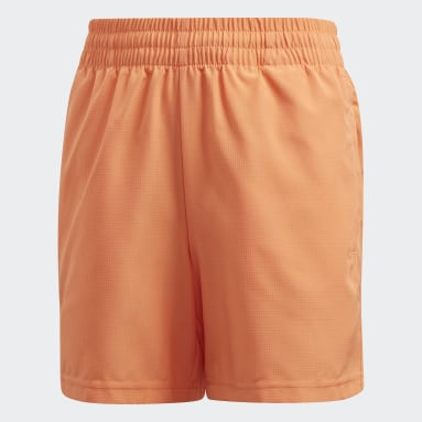 Short Club Orange Garçons Padel Tennis