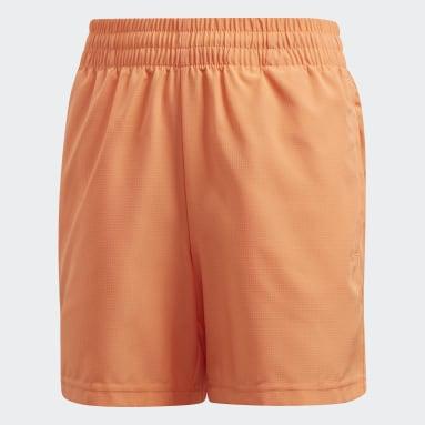 Short Club Arancione Ragazzo Padel Tennis
