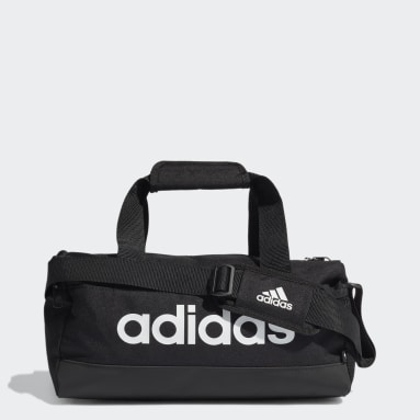 Lifestyle Black Essentials Logo Duffel Bag Extra Small