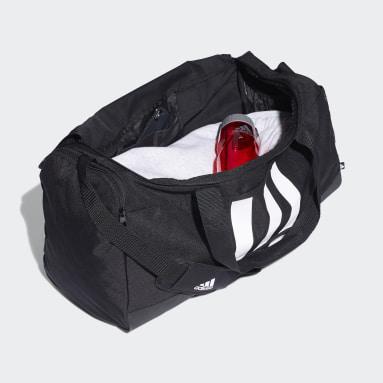 Bolso Deportivo Essentials 3 Franjas Mediana Negro Training