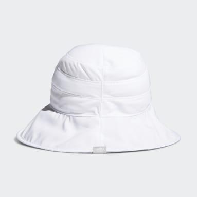 Women's Golf White UV Bucket Hat