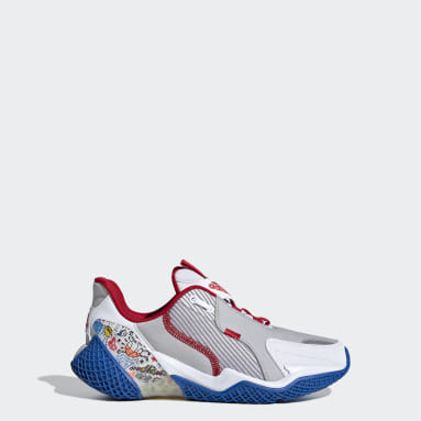 Youth Running White 4UTURE Runner Shoes