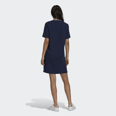 Women's Originals Blue Tennis Luxe Tee Dress