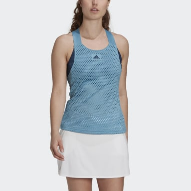 Women's Tennis Blue HEAT.RDY Primeblue Tennis Y-Tank Top