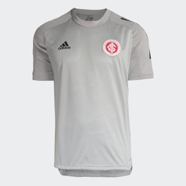 Camisa Treino Internacional Cinza Homem Futebol