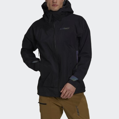 Men TERREX Black Terrex MYSHELTER GORE-TEX Active Rain Jacket