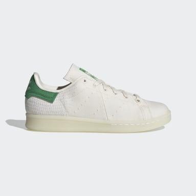 Chaussure Stan Smith Primeblue blanc Adolescents Originals