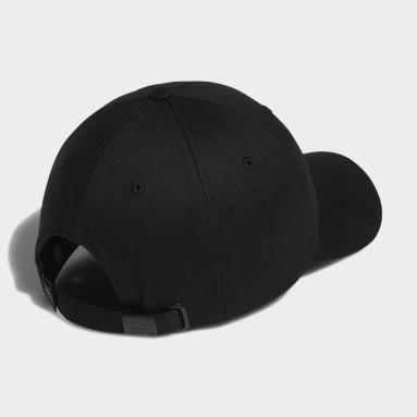 Women's Golf Black Coat of Arms Cap