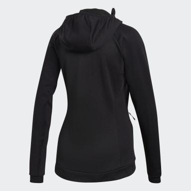 Women TERREX Black Stockhorn Hooded Jacket