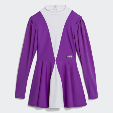 Women Originals Purple Lotta Volkova Ice Skate Dress