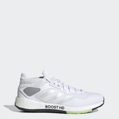 Women Running White Pulseboost HD Shoes