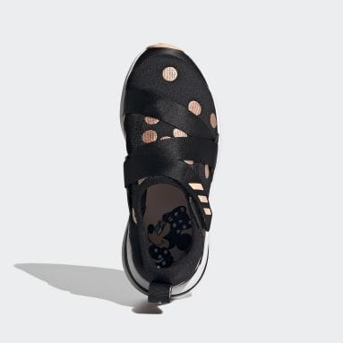 Chaussure FortaRun X Polka-Dot noir Enfants Course