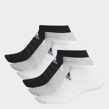 Calcetines Tobilleros (6 Pares) Gris Training