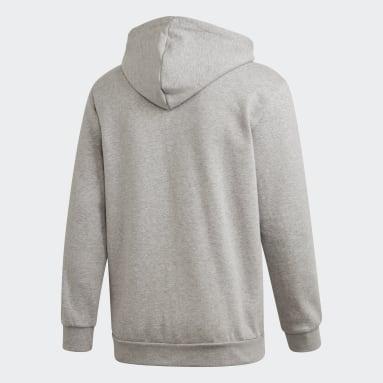 Men's Originals Grey 3-Stripes Hoodie