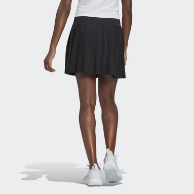 Women Tennis Black Club Tennis Pleated Skirt