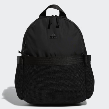 Women Yoga Black VFA Backpack