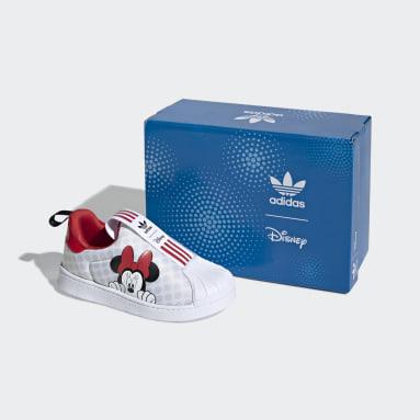 Bebek Originals Beyaz Superstar 360 X Ayakkabı