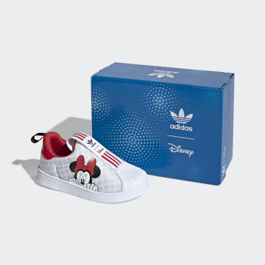 Kids Originals White Superstar 360 X Shoes