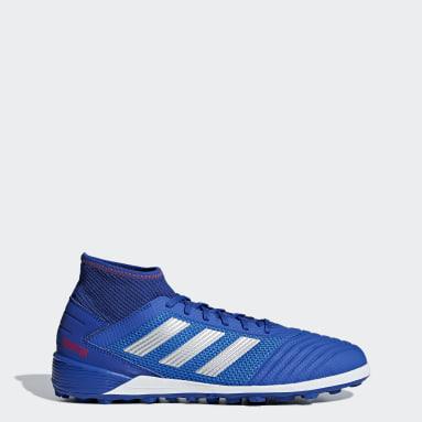 Calzado de fútbol Predator Tango 19.3 Pasto Sintético Azul Hombre Fútbol