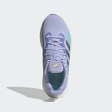 фиолетовый Кроссовки для бега SolarGlide 4 ST