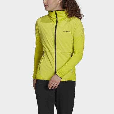 Frauen TERREX TERREX Skyclimb Fleece Windbreaker Gelb