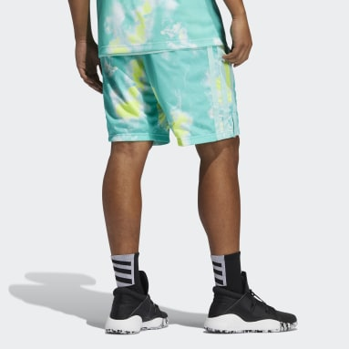 Men Basketball Green Donovan Mitchell Shorts