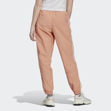 Women Originals Pink Adicolor Classics Lock-Up Tracksuit Bottoms