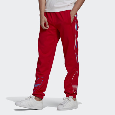Men Originals Red Adicolor FTO Tracksuit Bottom