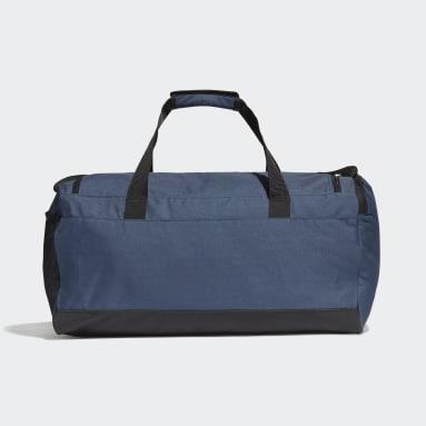 Sportswear Blue Essentials Logo Duffel Bag Medium