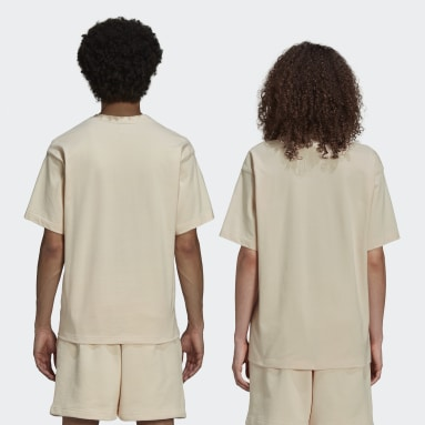 T-shirt Pharrell Williams Basics (Non genré) Beige Originals