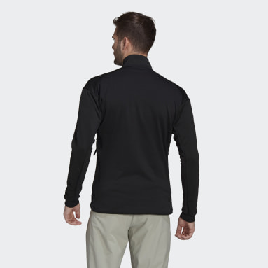 Men TERREX Black Terrex Tech Fleece Hiking Jacket