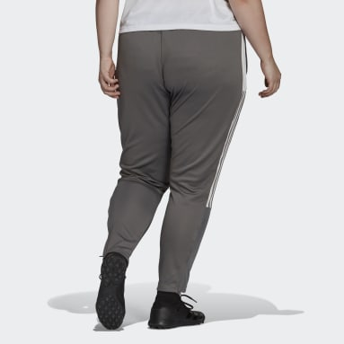 Women's Soccer Grey Tiro Track Pants (Plus Size)