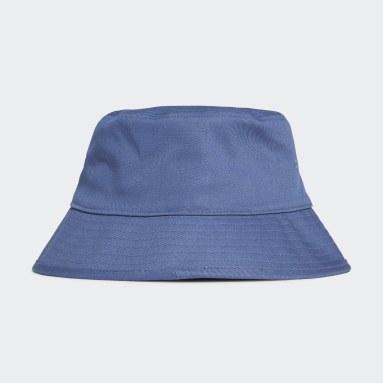 Originals Blå Adicolor Trefoil Bucket Hat