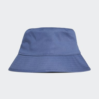 Cappello adicolor Trefoil Bucket Blu Originals