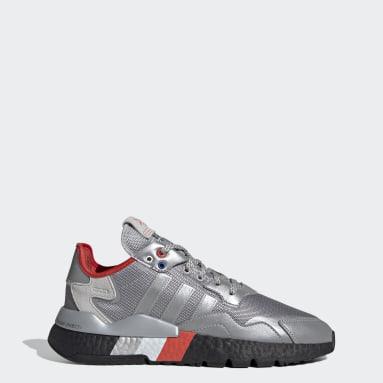 Sapatos Nite Jogger Prateado Mulher Originals