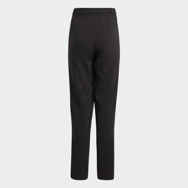 Kids Football Black Tiro 21 Woven Pants