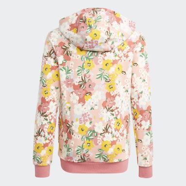 Dívky Originals růžová Mikina HER Studio London Floral