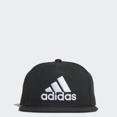 Field Hockey Black Snapback Cap