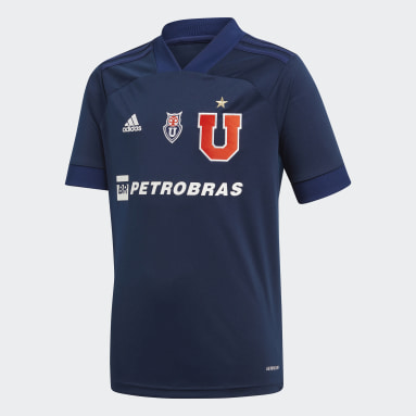 Camiseta Local Club Universidad de Chile Azul Niño Fútbol