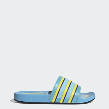 Men's Originals Turquoise Adilette Premium Slides
