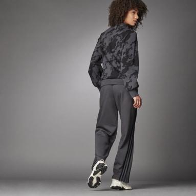 Pantalon Wide Gris Femmes Sportswear