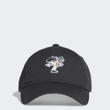 Originals สีดำ หมวกแก๊ปปีกโค้ง Goofy