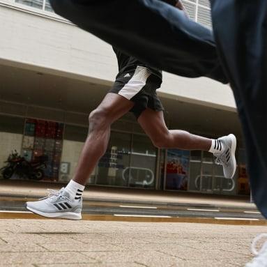 Calcetines Tobilleros 3 Franjas 3 Pares Blanco Training