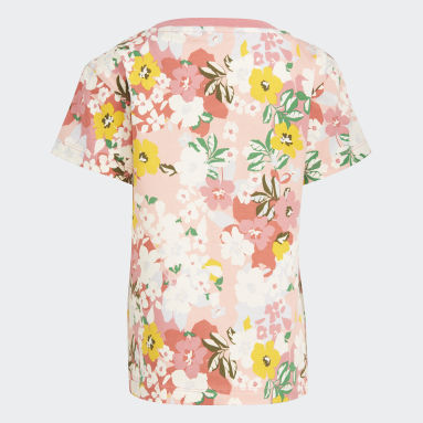 Children Originals Pink HER Studio London Floral Tee