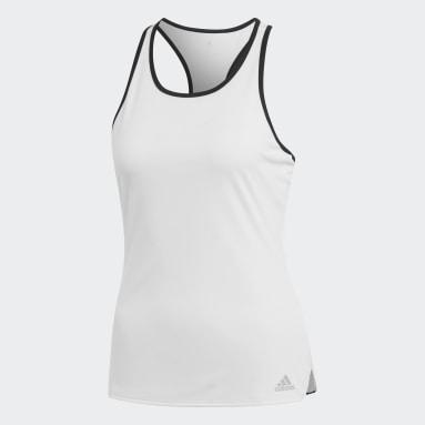 Camiseta de tirantes Club Tennis Blanco Mujer Tenis