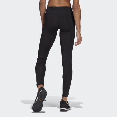Women TERREX Black Agravic Trail Running Leggings