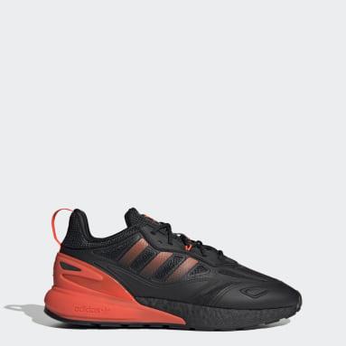 Men's Originals Black ZX 2K Boost 2.0 Shoes