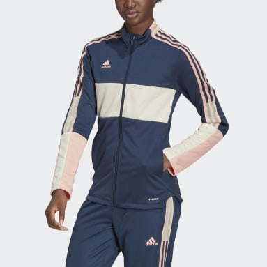 Women's Soccer Blue Tiro Track Jacket