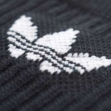 Originals černá Ponožky Crew – 3 páry