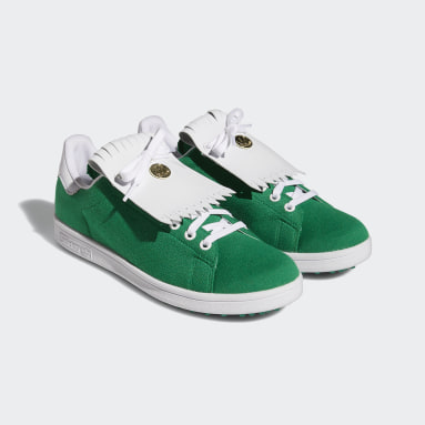 Golf Green Stan Smith Primegreen Limited Edition Spikeless Golf Shoes